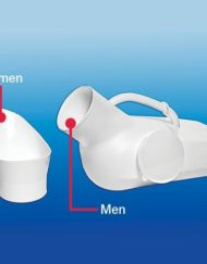 Rose Healthcare Smaller Unisex Portable Urinal with Lid