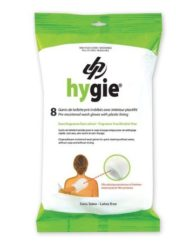 Hygie Pre-moistened Wash Gloves