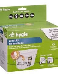 Hygie Vomit Bag Support Kit for Pregnancy, Chemotherapy, the Flu and Motion Sickness