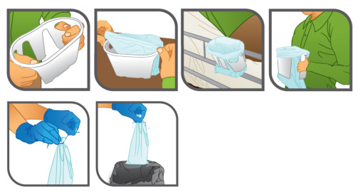 Hygie Vomit Bag for Pregnancy, Chemotherapy, the Flu and Motion Sickness